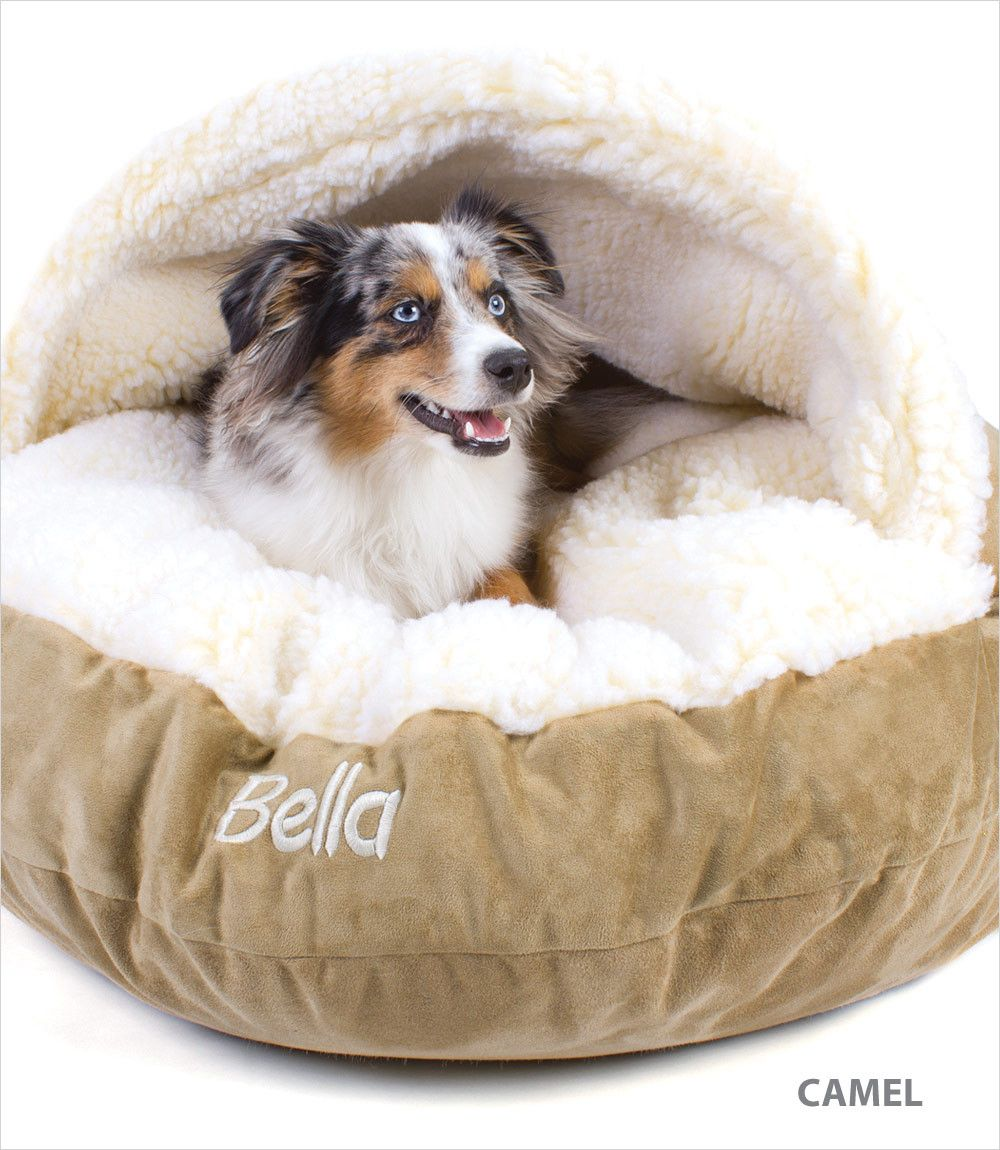 Large Luxury Cozy Cave Bed Cave dog bed, Cozy cave dog