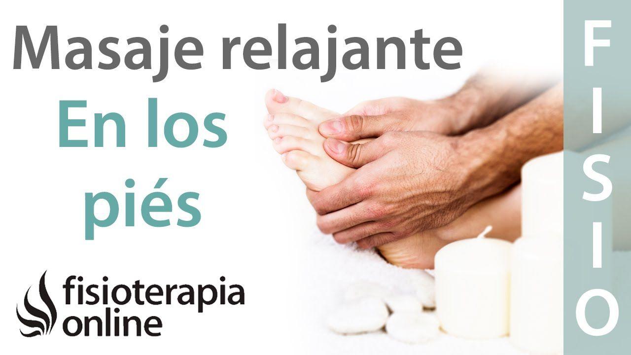 Cómo dar un masaje relajante en los pies y mejorar el dolor de pies - YouTube