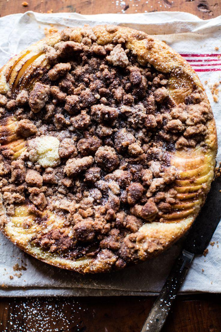 Photo of Cinnamon Apple Crumble Cake. – Half Baked Harvest