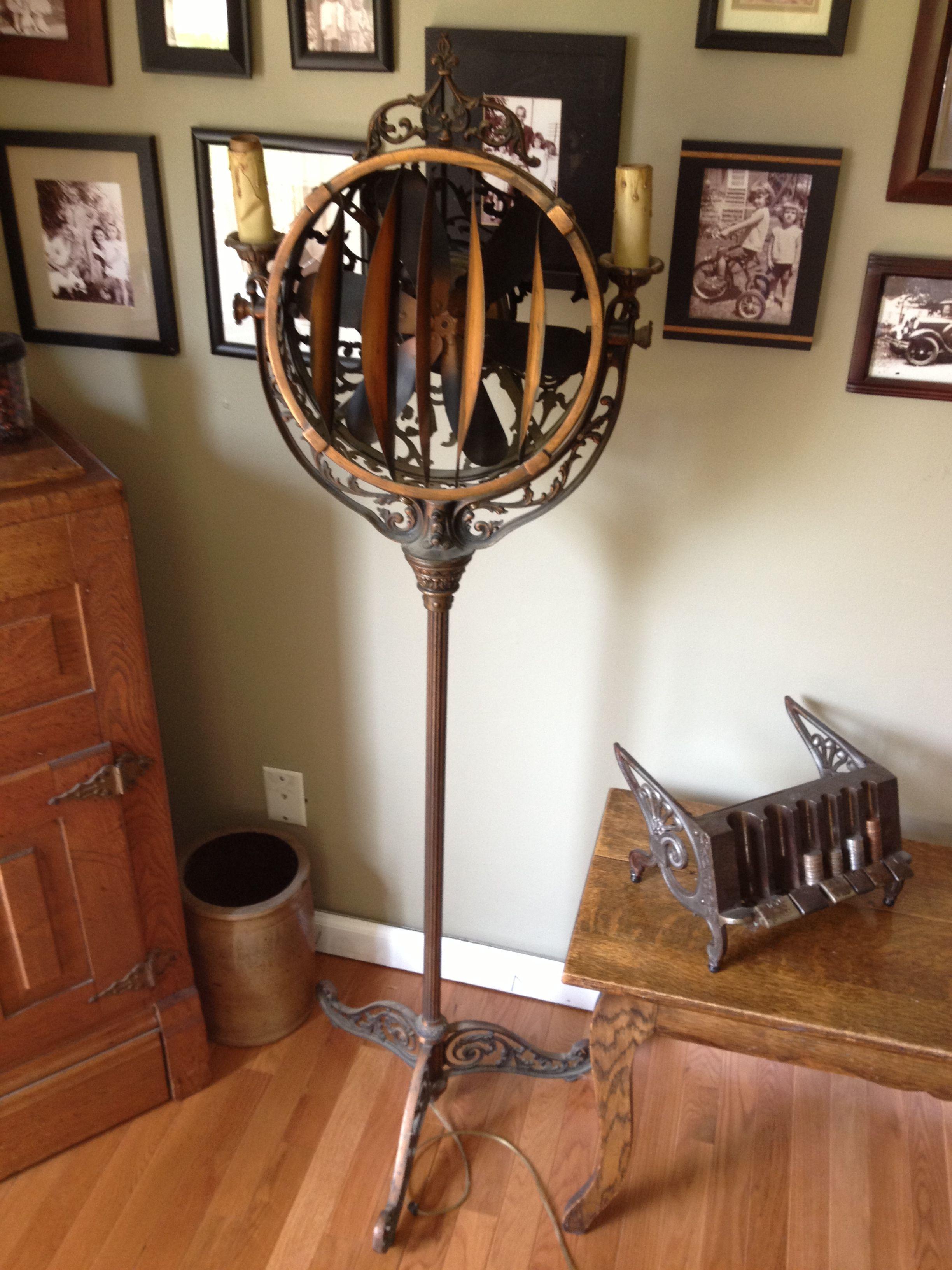 A 1905-1925 Luminaire Cincinnati Victor Funeral Parlor Lighted Fan ...