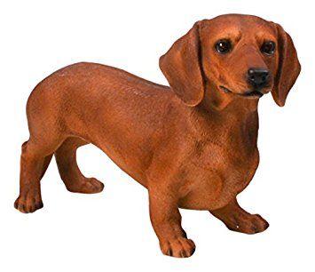 Figura realista perro salchicha teckel