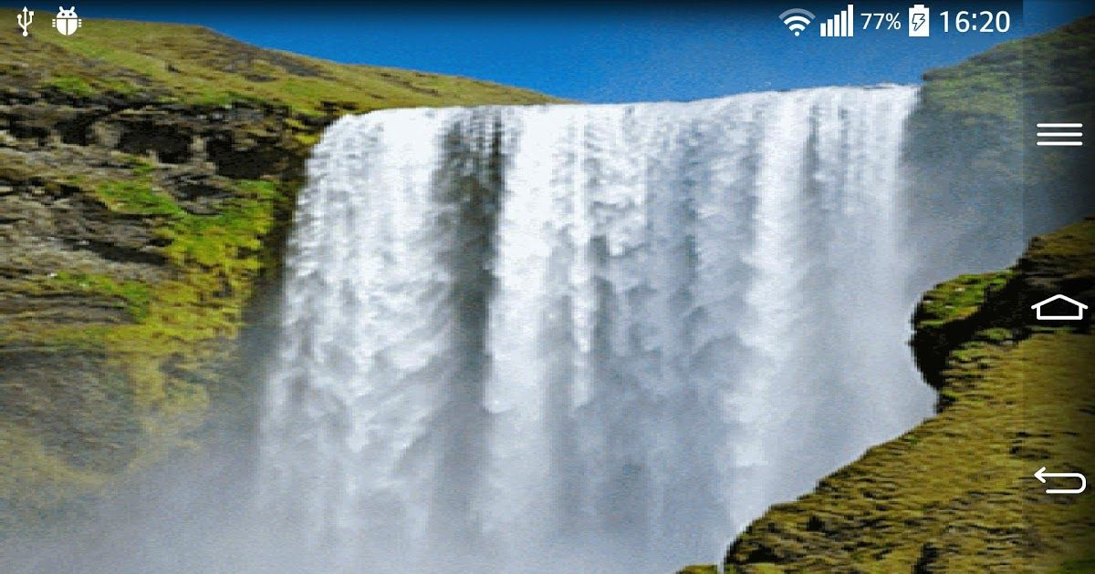 Waterfall Live Wallpaper For Android Apk Download 3d Hd Live Wallpaper 60 Images Niagra Falls Hd W In 2020 Scenic Waterfall Nature Photography Beautiful Waterfalls