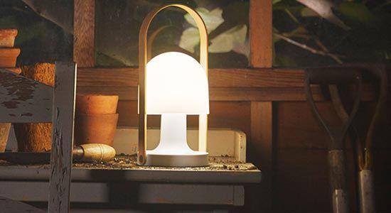 rechargeable outdoor light waterproof followme lamp lighting design pinterest outdoor lighting and lights lighting