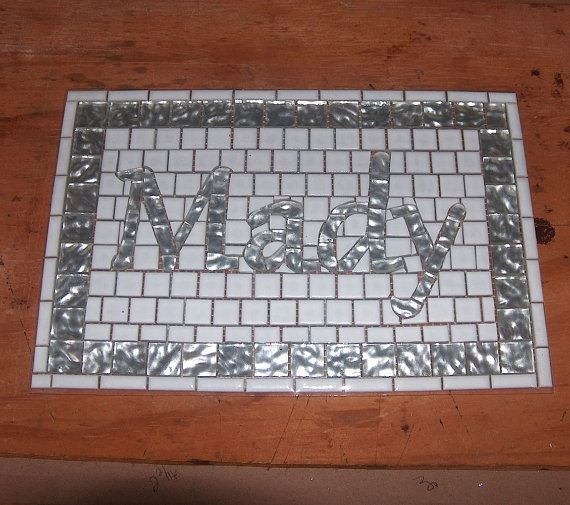 Mosaic Tile Install For Bathroom / Kitchen / Backsplash