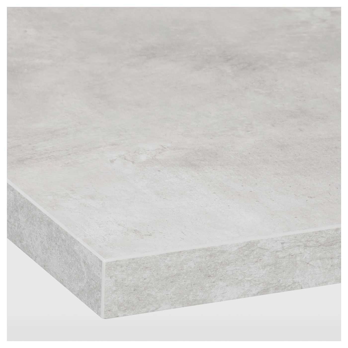 Ekbacken Bankskiva Ljusgra Betongmonstrad Laminat 186x2 8 Cm Ikea Laminate Countertops Countertops Kitchen Countertops
