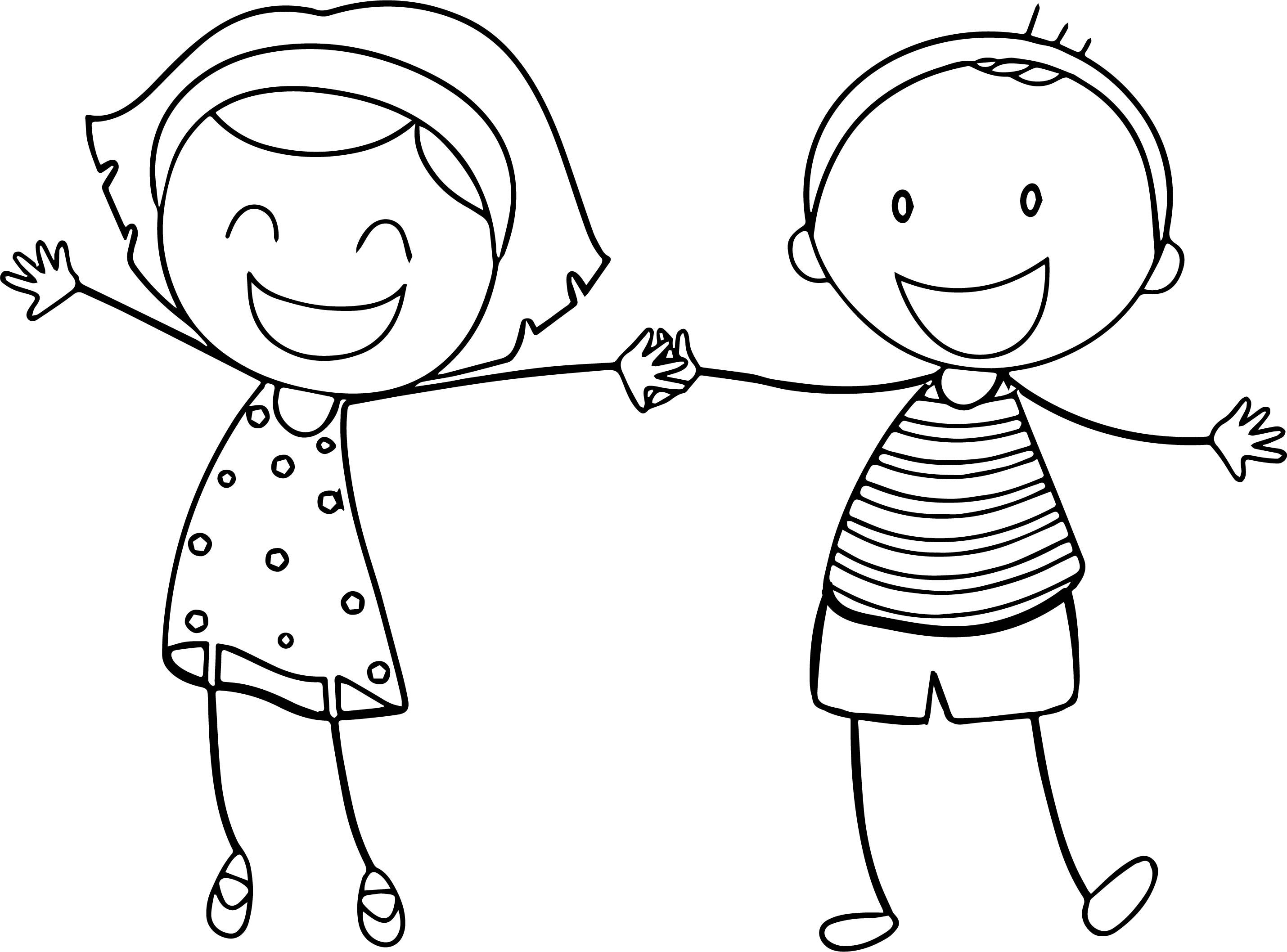 Awesome Basic Funny Boy Girl Coloring Sheet Printable Free Pages Boy And Girl Drawing Coloring Pages For Girls Cute Coloring Pages