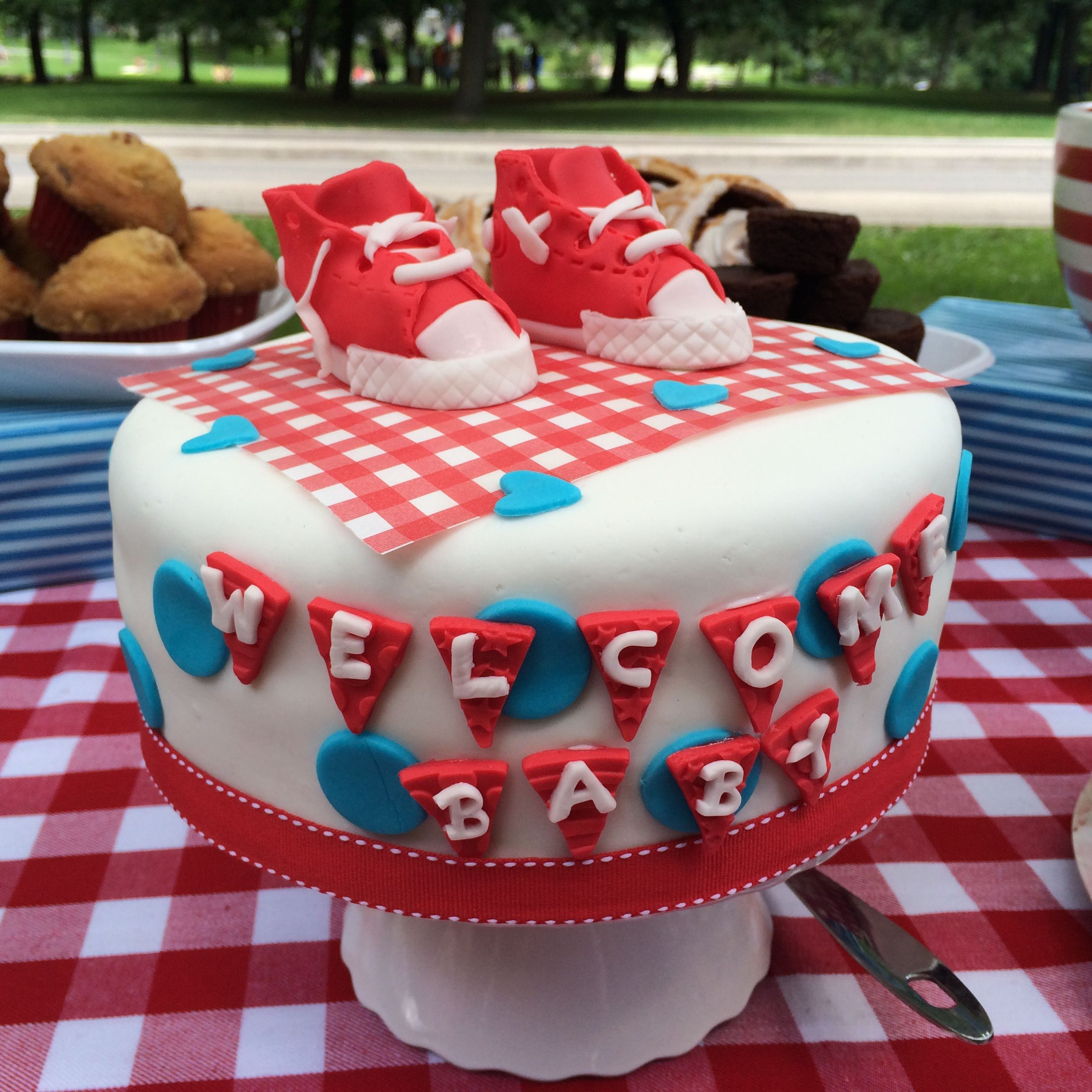 Baby Showers Bbq ~ Quot it s a boy bbq baby shower cake by baked keepsakes
