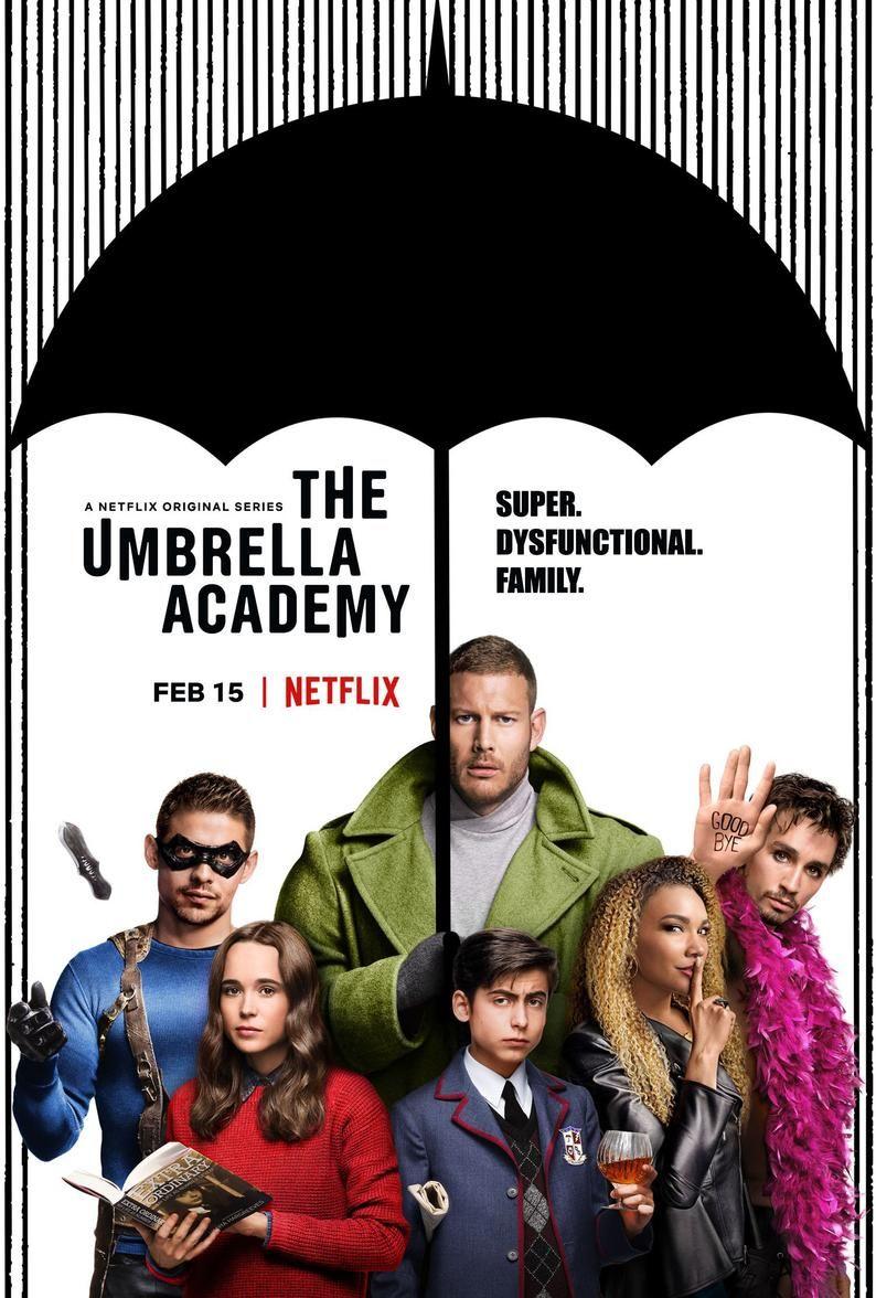 The Umbrella Academy Movie Poster Netflix Tv Series Quality Etsy In 2021 Academy Umbrella David Castaneda