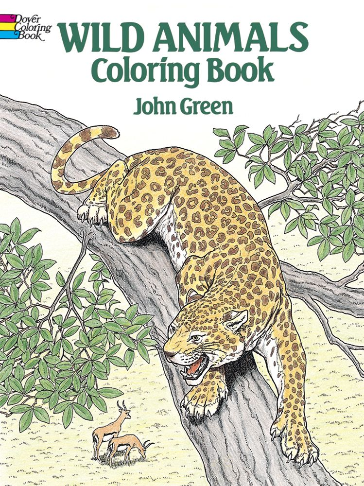 Wild Animals Coloring Book   Animal coloring books