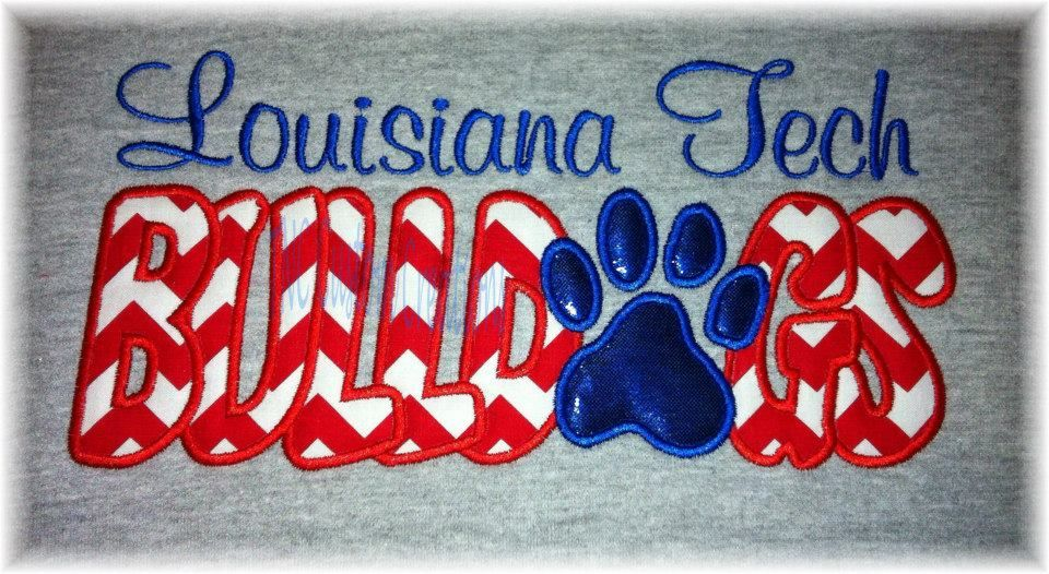 Louisiana Tech Bulldogs Louisiana tech, Vinyl projects