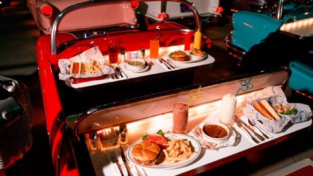 Image result for sci-fi dine-in theater restaurant