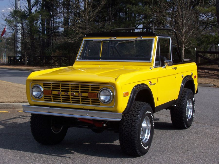 1970 Ford Bronco Sold Ford Bronco Bronco Classic Ford Broncos