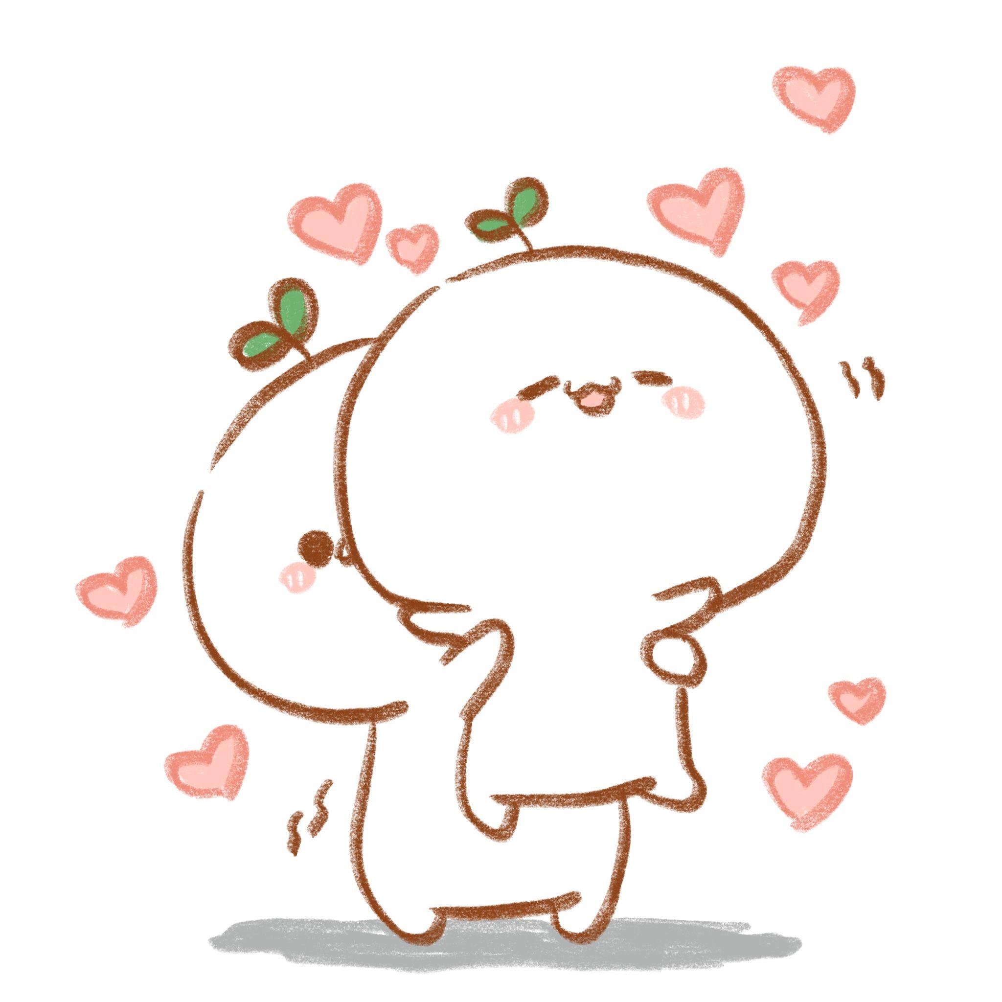 Ghim của Vịt méo🦆 trên Lucu Anime, Đang yêu, Dễ thương