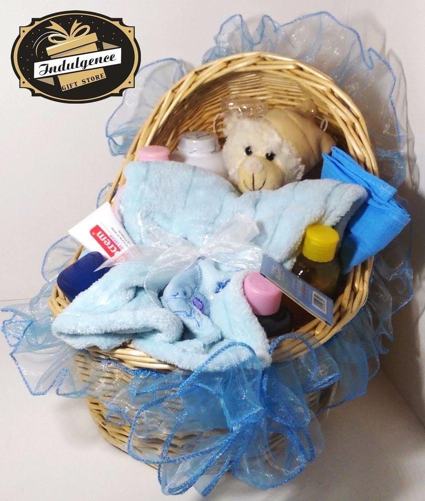 Baby gift basket ideal baby shower christening