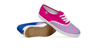 Keds sneakers inspired by Twitter, Facebook, or here, Flickr
