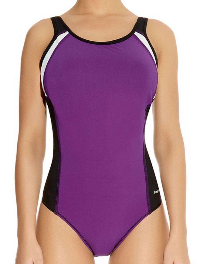 3991 Freya Active Swim Moulded Swimsuit Purple Rain 3991