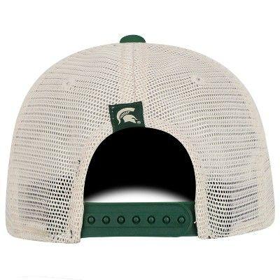 the latest 7ab1c ba8bf NCAA Men s Michigan State Spartans Snapback Cream Phrase Baseball Hat
