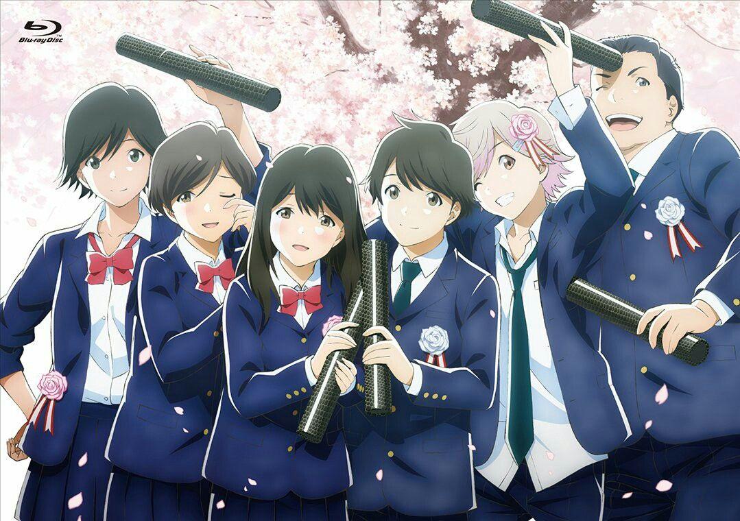 Tsuki ga kirei official art Fondo de pantalla de anime