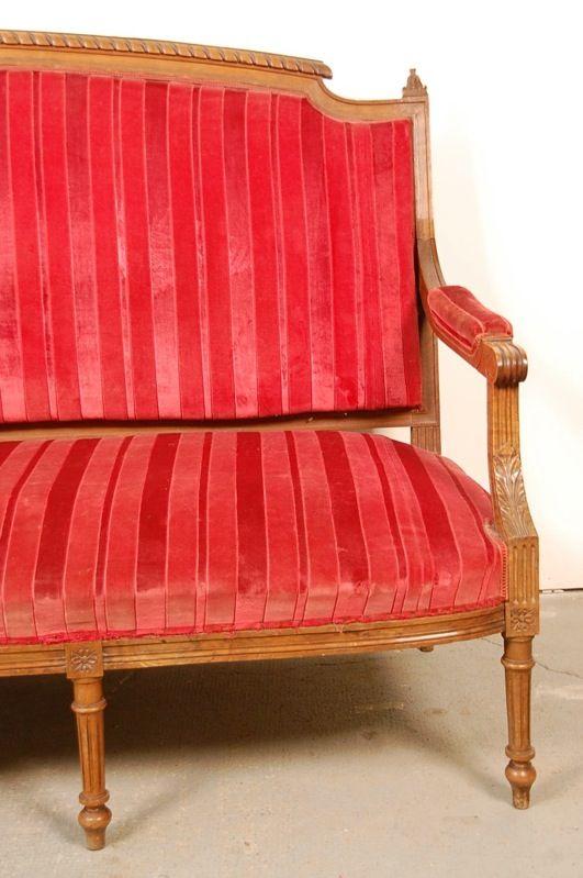 canap fauteuil louis xvi style louis xvi napoleon iii ancien bergere xv ebay - Fauteuil Ancien Bergere