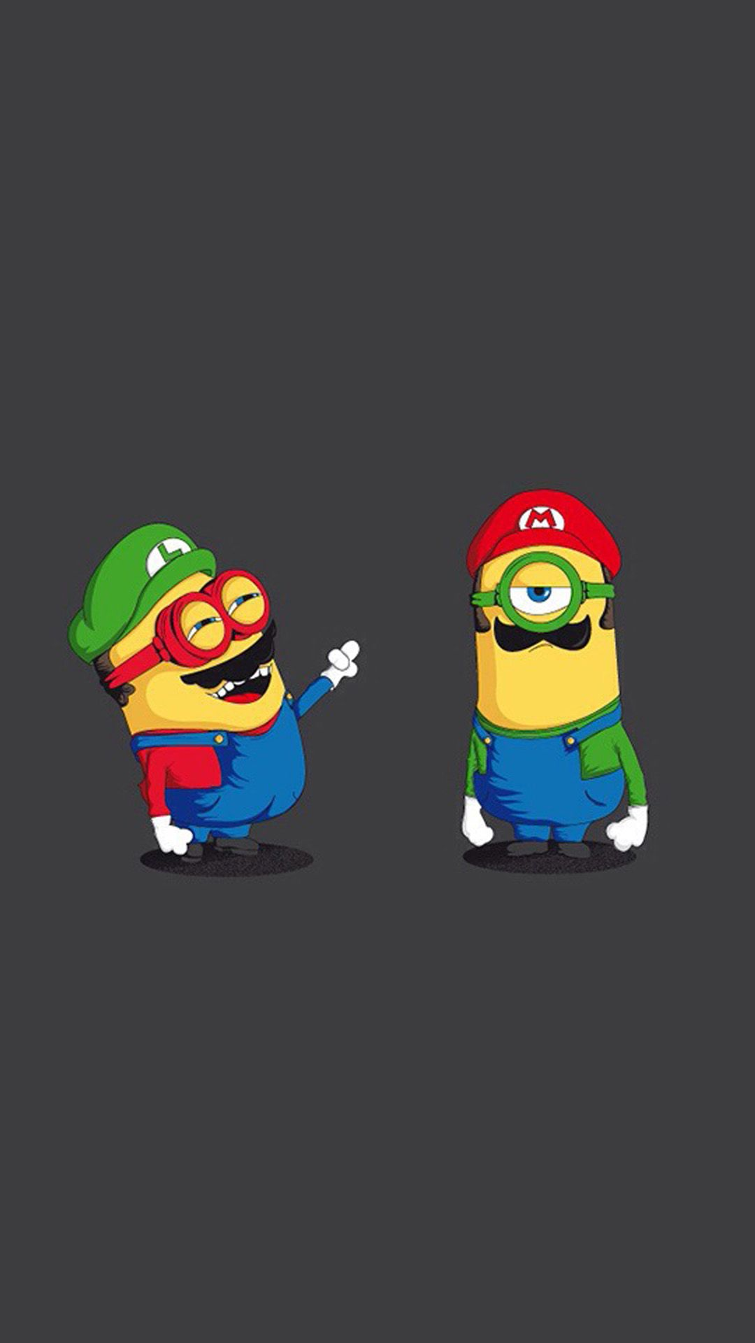 funny mario and luigi minions hd wallpaper iphone 6 plus | minion1