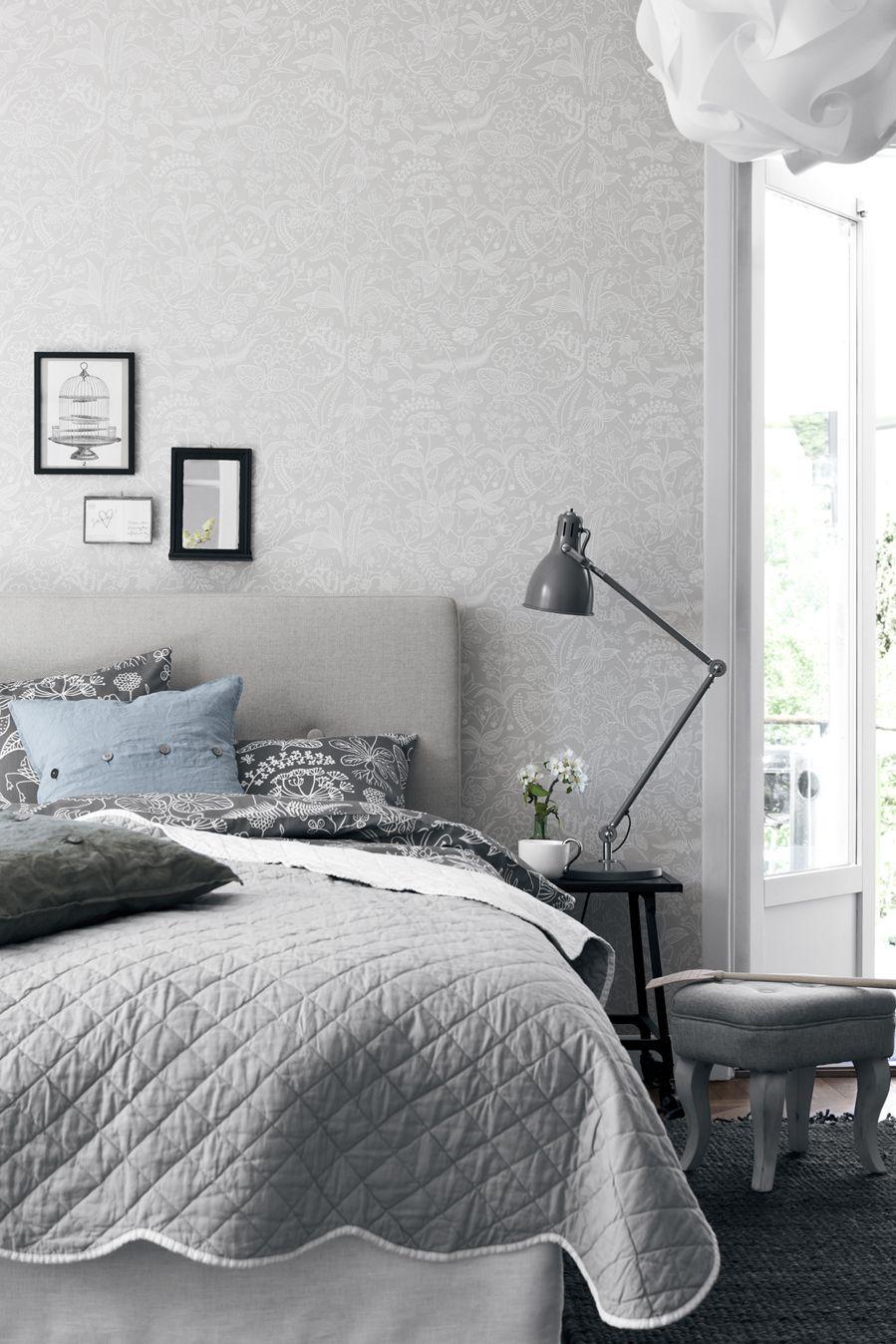 Grazia av Stig Lindberg ur Boråstapeters serie Wallpapers by Scandinavian designers.