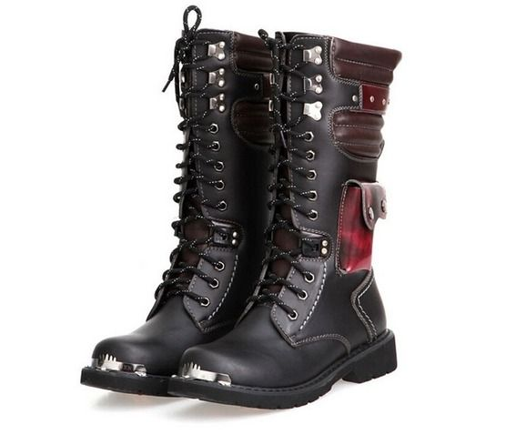 Women/'s Ankle Shoes Knight Boots Round Toe Casual Britain PU Leather Zip Zsell