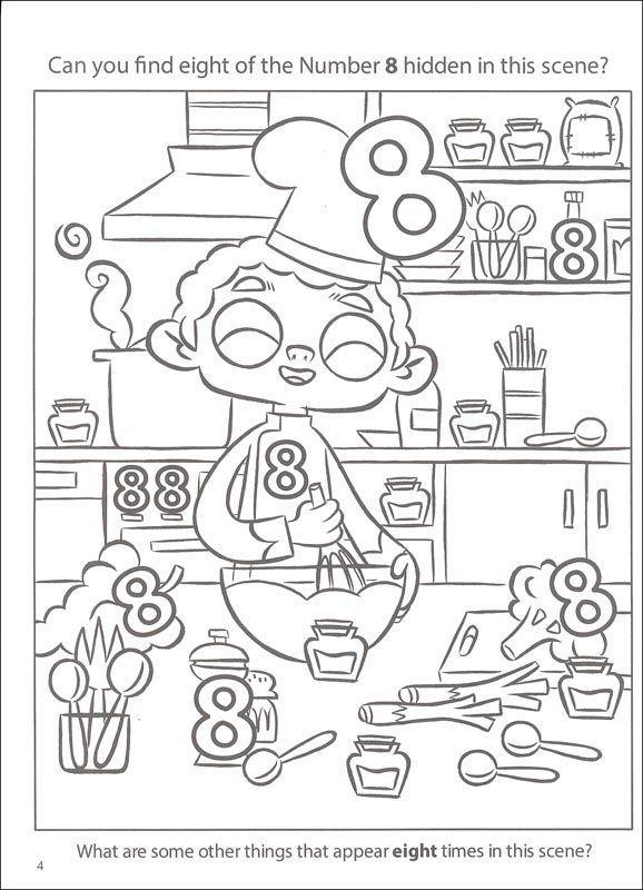 Resultado De Imagem Para Look Find Numbers To Colors Kindergarten Math Worksheets Preschool Math Preschool Worksheets Find hidden picture math worksheets
