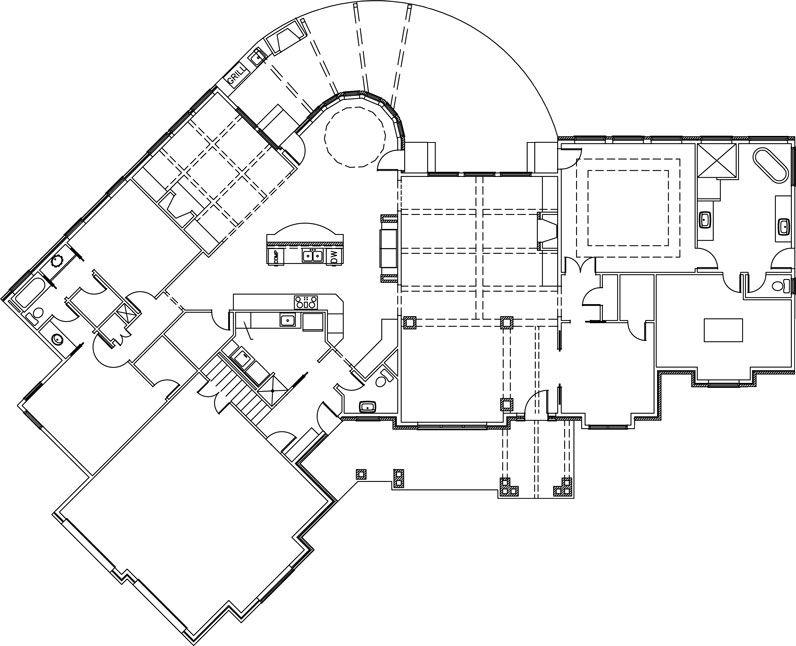 Amicalola Cottage Design by Garrell Associates Hills of Texas Homes