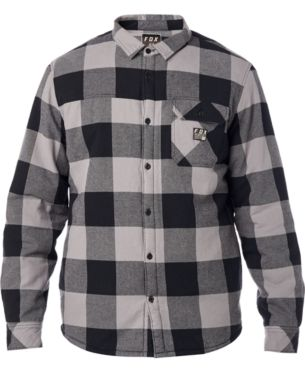 Fox Mens Sherpa Flannel Shirt in 2019  eb4c8d7d32a