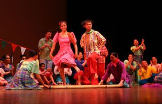 how to do the tinikling dance