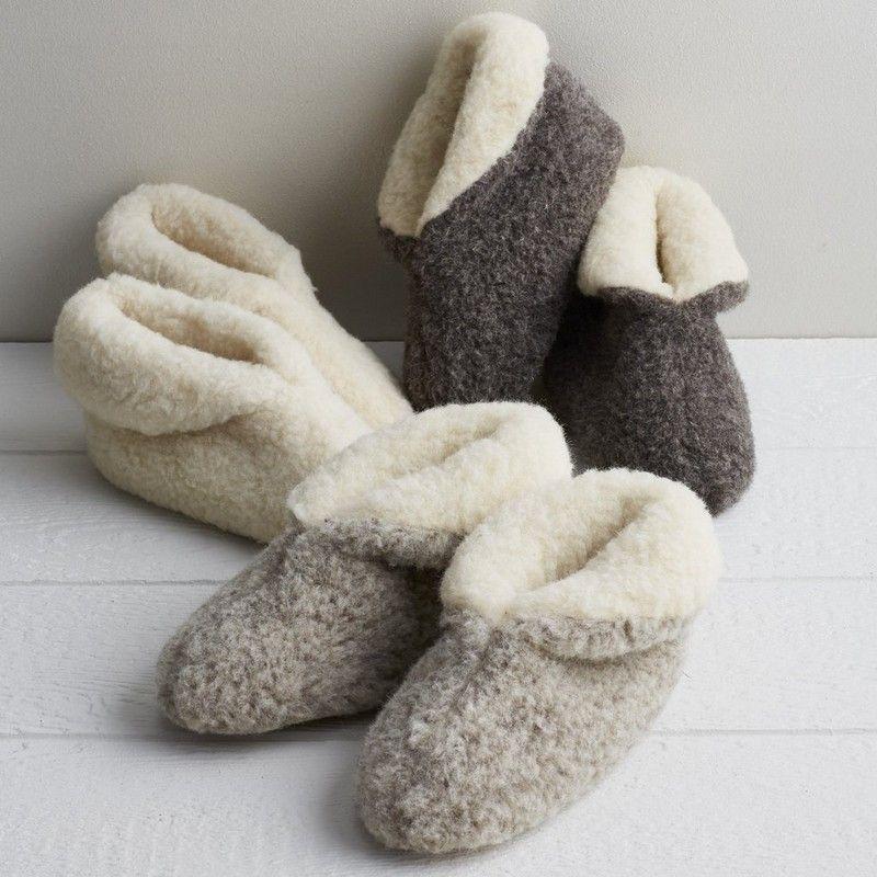 b04e880a9ee93 Wool Booties - Ladies and gentlemen, introducing the ultimate indoor ...