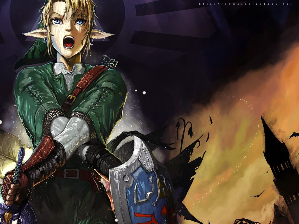 Legend Of Zelda Link Anime Tags Anime 1024x768 Wallpaper