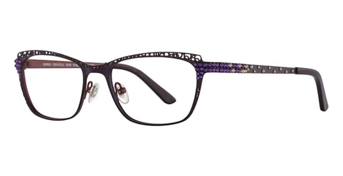 bbf9912a686 Jimmy Crystal New York Vixen Eyeglasses Frames