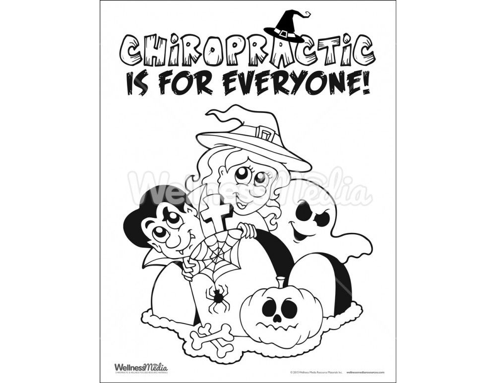 Free Coloring Pages Of Kids Chiropractic Coloring Pages Chiropractic Humor Chiropractic
