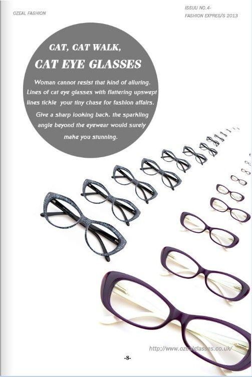 Eyewear Trend-Cat Eye Glasses #eyewear #eyeglasses #womensfashion
