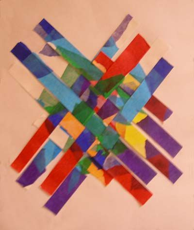paper weaving from the elementary classroom great activity when