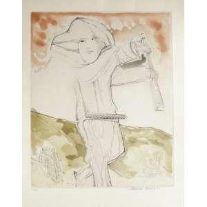 Aldemir Martins (19222006) Cangaceiro Gravura em