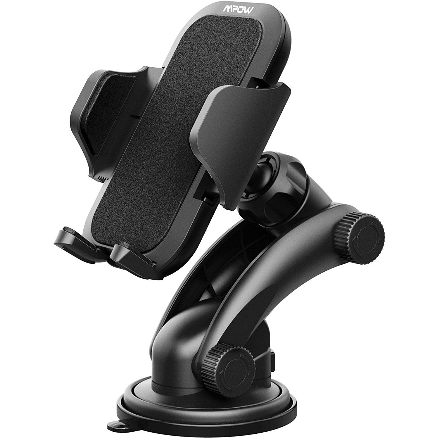 Mpow Phone Holder for Car, Universal Car Windshield