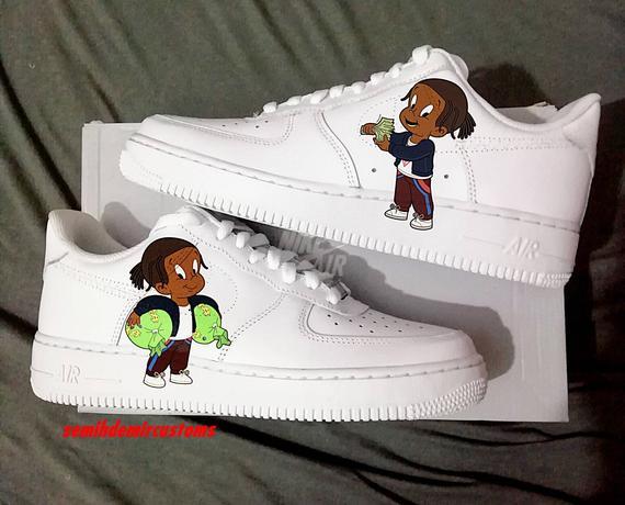 ASAP ROCKY custom nike air force one,custom sneakers