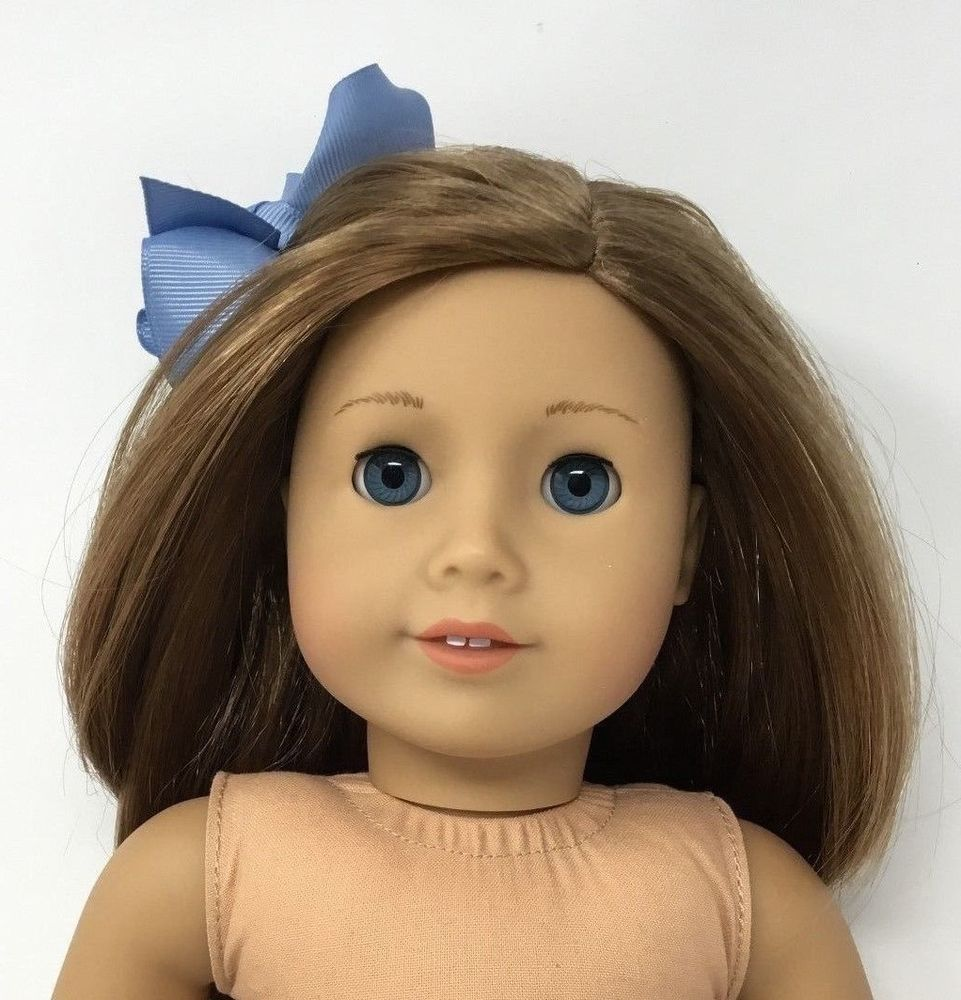 American Girl Doll Truly Me Caramel Brown Hair W Blue Eyes