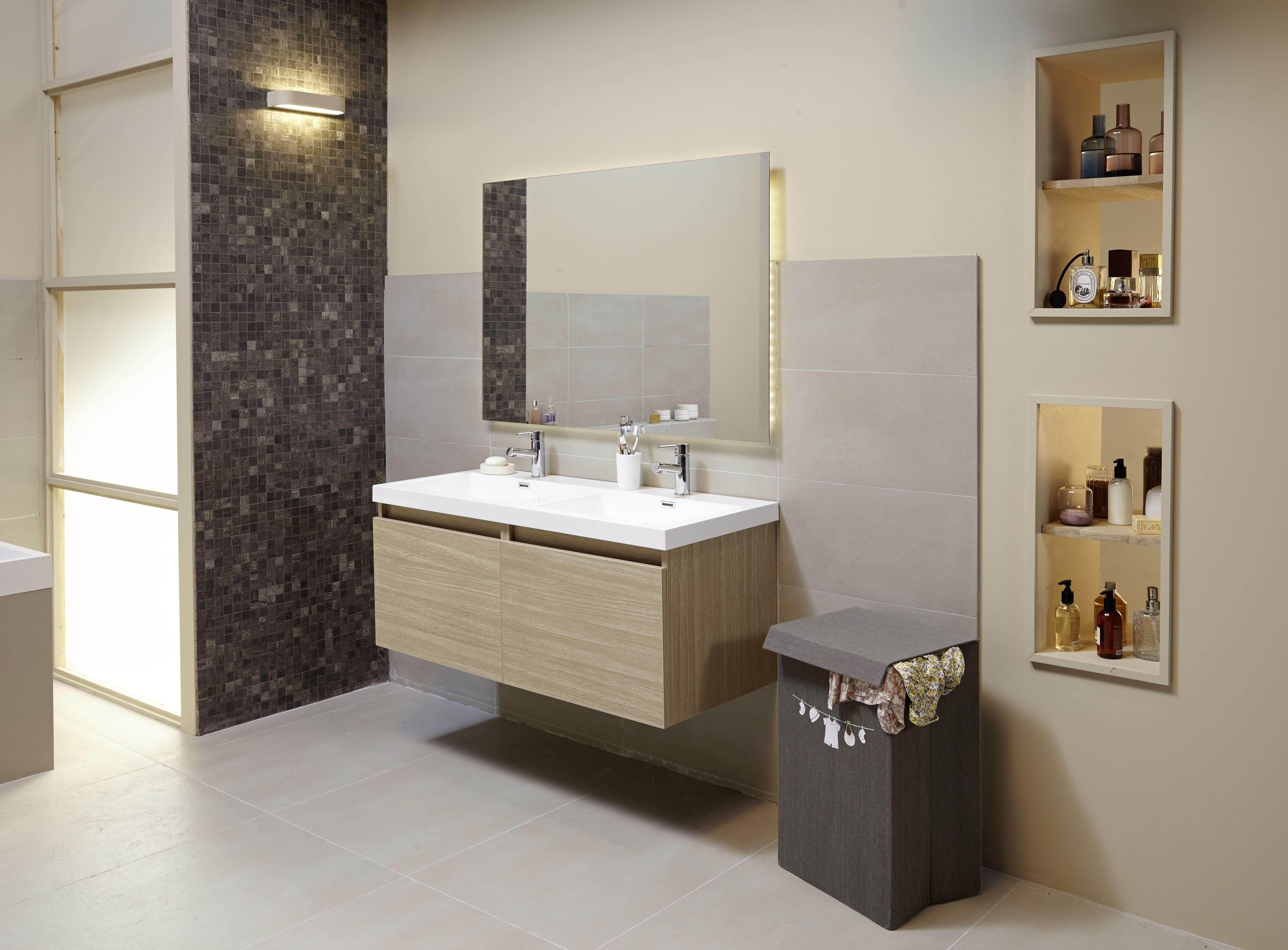"""Salle de bains """"Happy"""" Lapeyre  Salle de bain, Salle de bains"""