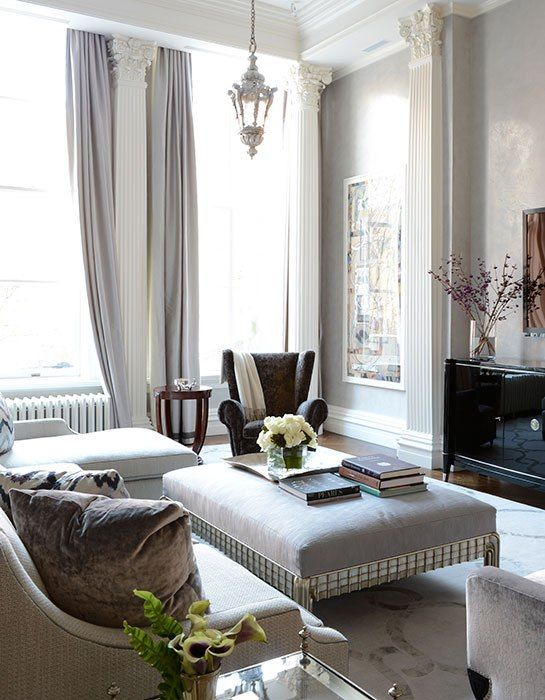Renovating Tips from Stephen Fanuka - from AD - renovate the crown mouldings!