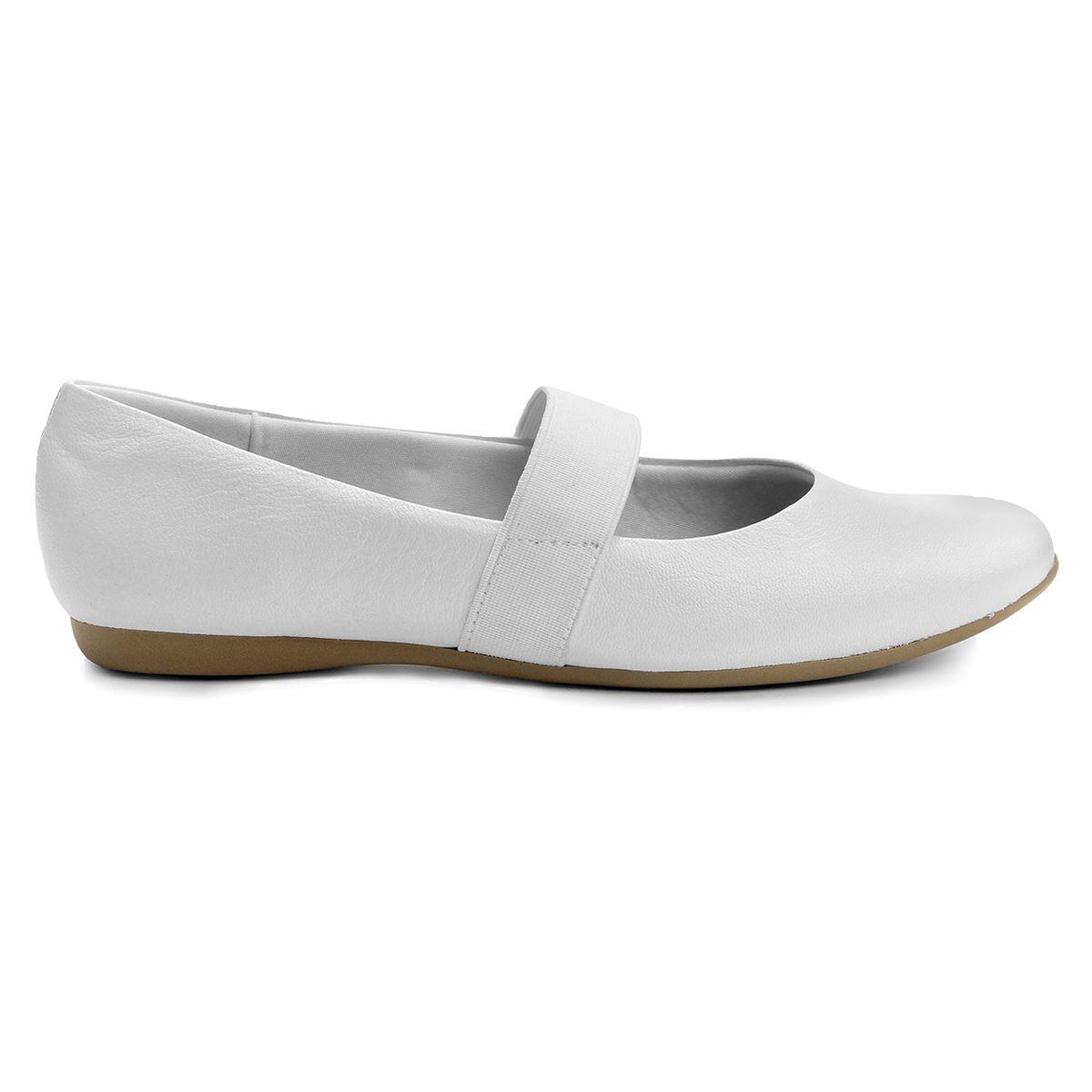 3e356538b Compre Sapatilha Usaflex Elástico Branco na Zattini a nova loja de moda  online…