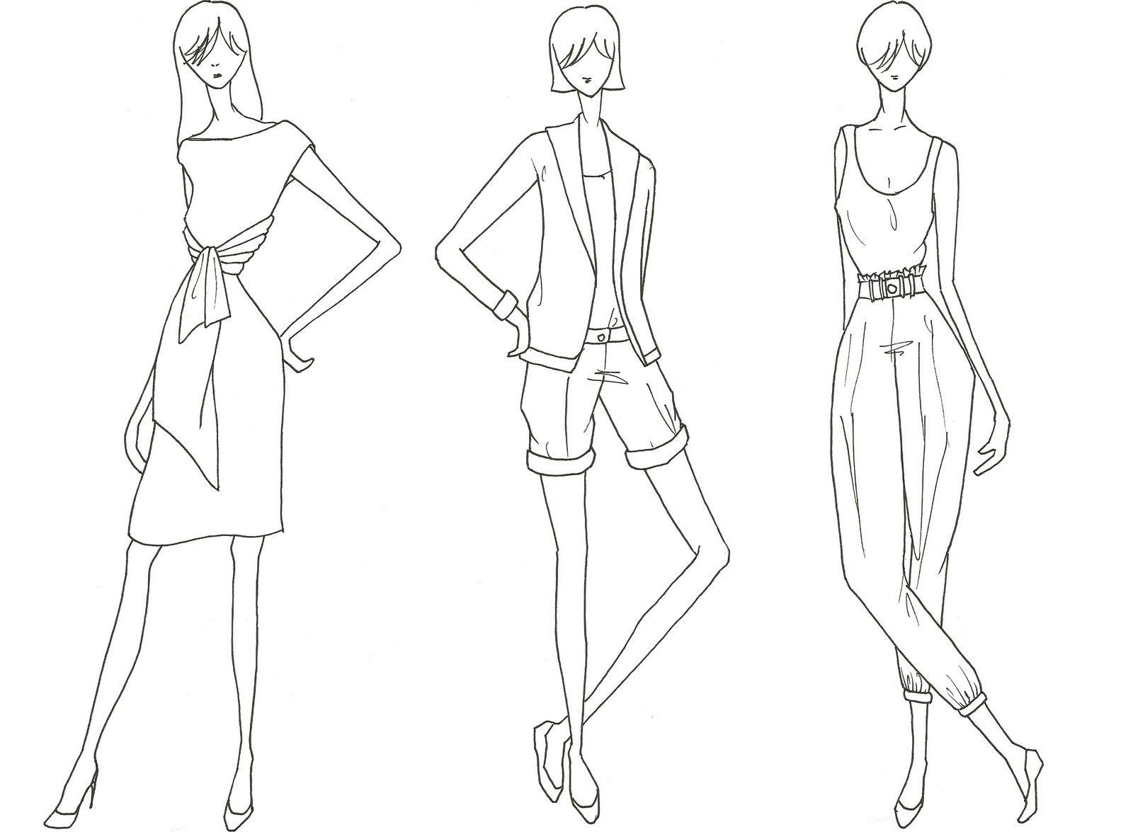 mutinee: Fashion Figure Drawing of mine | Learning drawing ...