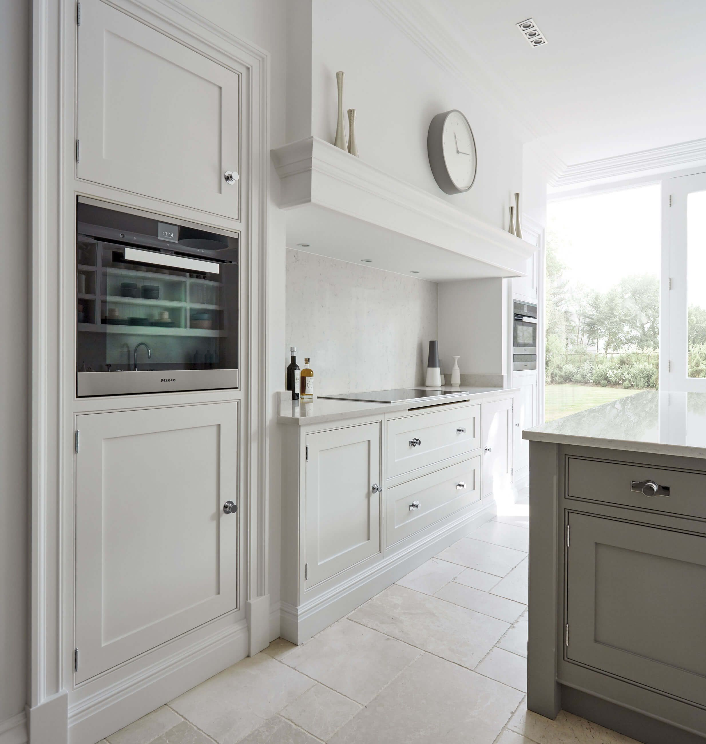 Grey Shaker Kitchen   Grey shaker kitchen, Modern shaker kitchen and ...