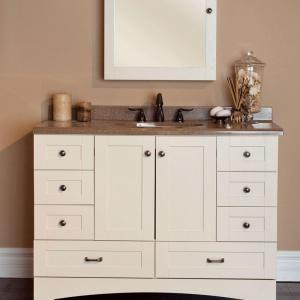 Elegant 60 Inch Vanity Base Cabinet Only