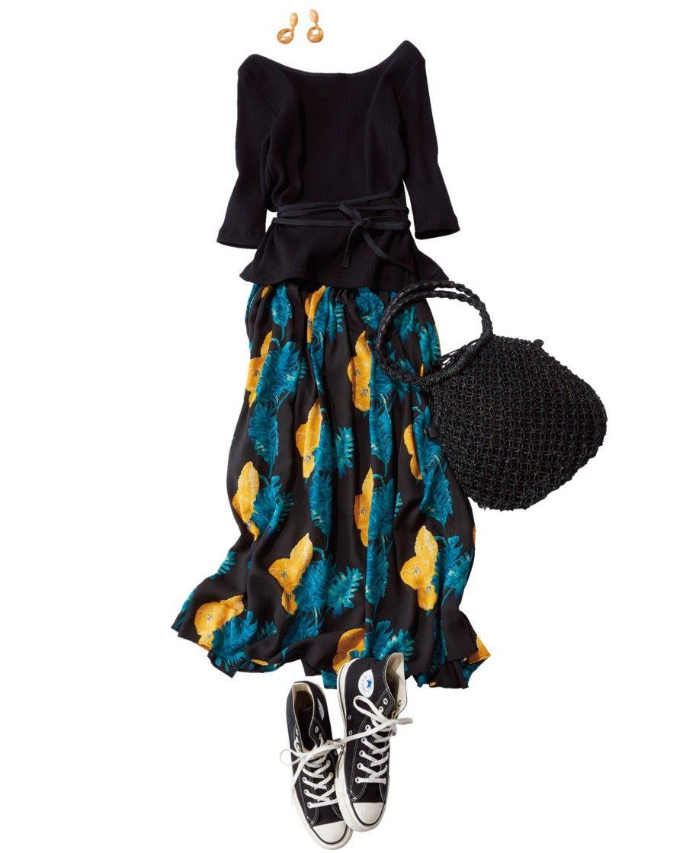 定番色コンバースがきれい見え仕様に ワントーンコーデの着こなしアイデア5選 lee コンバース カジュアル 色
