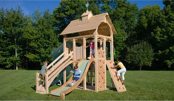 Merveilleux Wonderful Outdoor Kids Playset Design From CedarWorks Safe For Use In  Accordance With Its Rules