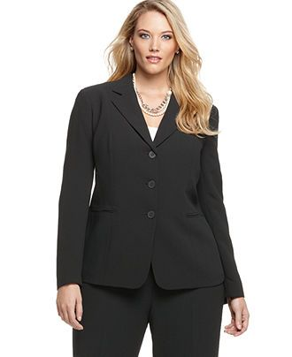 912e2ac063a very simple and cute !. Jones New York Collection Plus Size Jacket ...