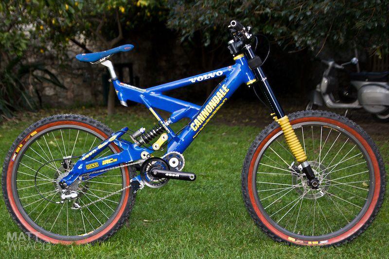 Old School Tech Cannondale Fulcrum Cannondale Downhill Bike Beautiful Bike